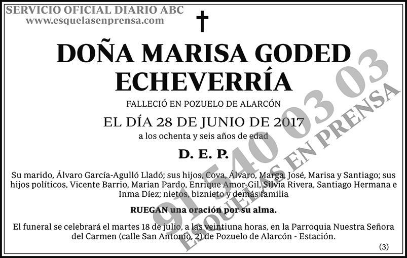 Marisa Goded Echeverría